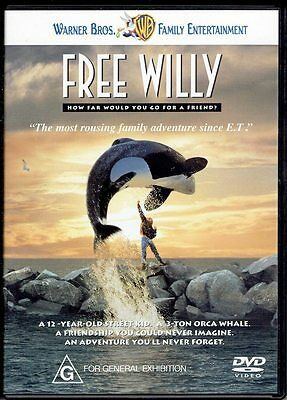 "Movies 1 ""  Free Willy  "" *Seller's Bargains*"