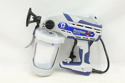 Graco 17D889 Corded Electric Airless 360 VSP True Coat Paint Sprayer w/ Case