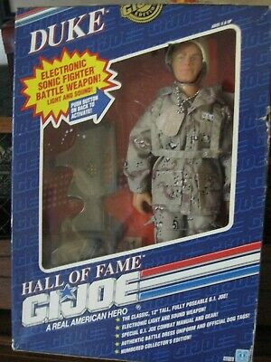 New Gi Joe Duke Hall Of Fame Hasbro Classic 12 In Electonic Battle Weapon 1991
