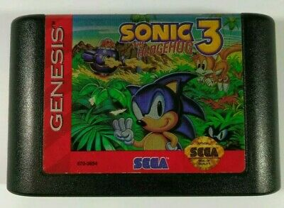 Sonic The Hedgehog Classics Sega Genesis 1997 3 In 1 Cartridge 14 99 Picclick