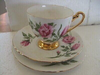 LOVELY SHELLEY CHINA CUP, SAUCER and PLATE