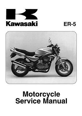 Kawasaki service manual 2001, 2002, 2003, 2004 & 2005 ER-5