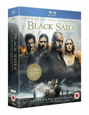 Black Sails The Complete Season Series 1+2+3+4 Collection Blu-ray New Region B