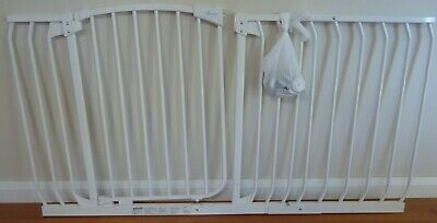 Dreambaby safety gate 97cm-108cm with extension 146cm