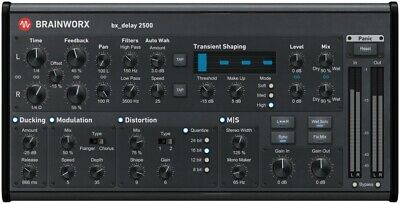 Brainworx bx_delay 2500 - Plugin Alliance