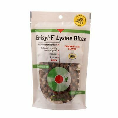 Lysine Bites: L-Lysine Treats for Cats & Kittens - Chicken Liver-Flavored Chews
