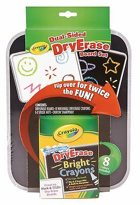 Crayola Dual Sided Board Whiteboard Set (Crayola Dual Sided Dry Erase Board Set)