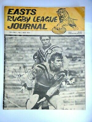 1975 BRL EASTERN SUBURBS TIGERS RUGBY LEAGUE CLUB JOURNAL. VOL 1,no 2