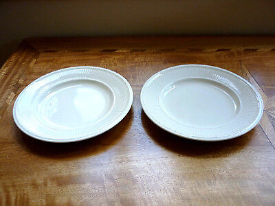 Two Wedgwood Queen's Ware Edme Plates