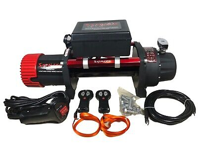 13500lb ELECTRIC RECOVERY WINCH 12v 216:1 High Speed OFF ROAD SPEC BARE WINCH