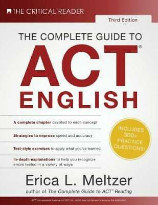 The Complete Guide to ACT English, 3rd Edition by Meltzer, Erica L.