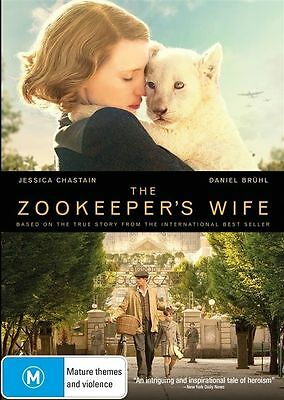 The Zookeepers Wife (DVD, 2017), NEW SEALED AUSTRALIAN