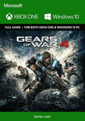 Gears of War 4 / Xbox One & PC / Digital Code / Fast Distpach *Region Free*