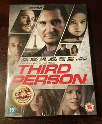 Third Person - Liam Neeson - DVD - New & Sealed