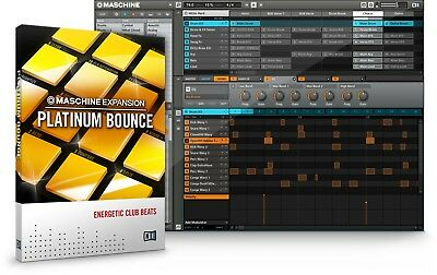 Native Instruments PLATINUM BOUNCE Expansion for Maschine / Reaktor & Massive!