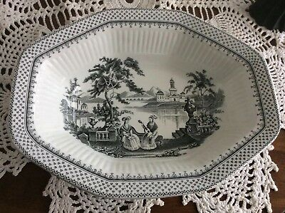 Wm Adams and Sons MINUET PATTERN Bowl  REAL ENGLISH IRONSTONE