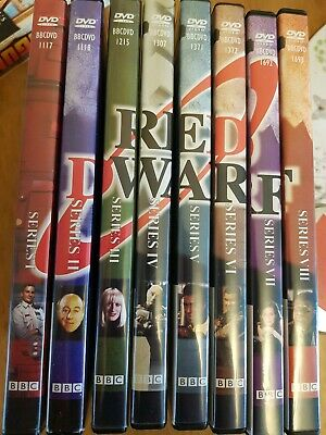 Red Dwarf DVD Set Series 1-8