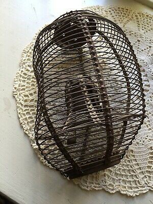 Antique Miniature Trap Wire Basket Primitive Trap From Late 1800's