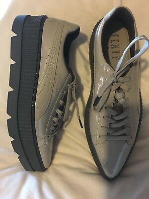 best website e300f a38a7 PUMA WOMEN'S FENTY x Pointy Creeper Sneakers Dove/Glacier Grey sz us 12 new