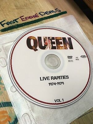 Queen Rarities Live 1974-1979 Dvd 2 Disc Set Rare Band Footage Mercury May