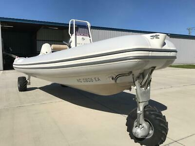2014 Sealegs Amphibious Craft 7.1M Sports Rib And 170 Hp Engine With 151 Hours