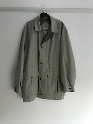 Top quality men' Dannimac raincoat in immaculate condition. Small to medium