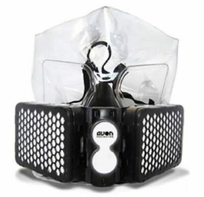 AVON NH15 CBRN EMERGENCY ESCAPE RESPIRATOR MASK PROTECTION FULL FACE Size: LARGE