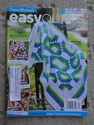 Fons Porter S Easy Quilts Fall 2014 18 Fantastic Fall Project Free