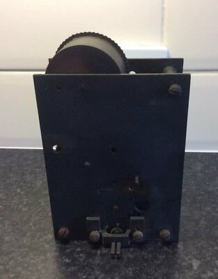 Dyson & Sons Leeds Antique single fusee clock movement for restoration.