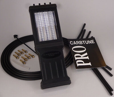 Carbtune Pro 4-col carb synchroniser. Worldwide delivery.Brand new in Toolpouch.