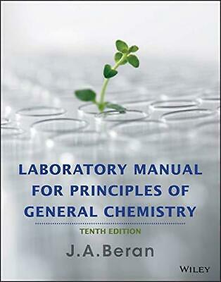 PDF Laboratory Manual for Principles of General Chemistry10th & 9th Editions