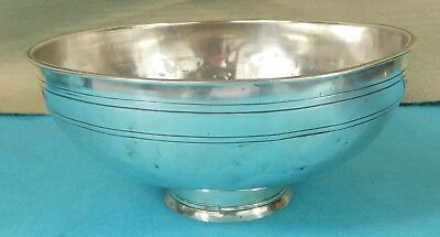 Russian Provincial Sterling Silver Bowl Hand Hammered Tiflis Georgia Tblisi 1854