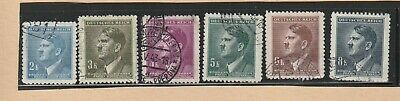 Germany Stamp Hitler Ww2 Era  Daily Stamps  Used Lot 444