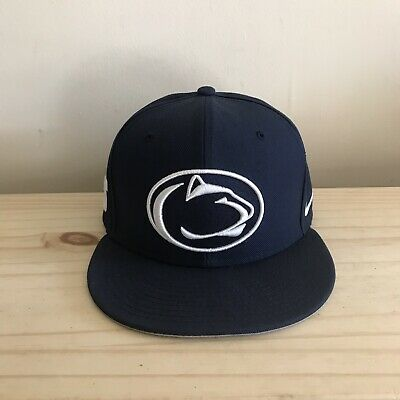 size 40 25119 dc285 Nike Penn State Nittany Lions Blue Hat Snapback One Size