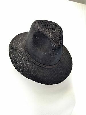 57716834865 D Y DAVID YOUNG Women s Floppy Fedora Hat Black One Size -  9.00 ...