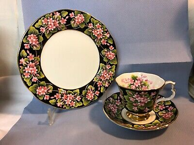 Royal Albert Provincial Flowers - Mayflower  1 Kaffeegedeck 3 tlg.
