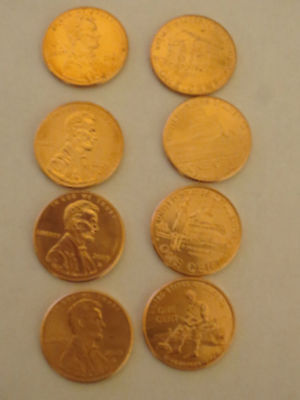 2009 Lincoln Bicentennial P & D full set Cents Pennies