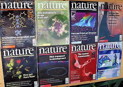 NATURE – volume 414 – complete – The International Weekly Journal of Science!