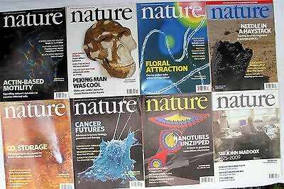NATURE – volume 458 - complete - The International Weekly Journal of Science!