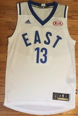 631f6d5f5124 Authentic Adidas Paul George Small Swingman OKC Thunder All Star Jersey S  Nike
