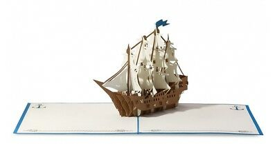 Sailboat High Quality Popup Greeting Card **Best price in Australia**