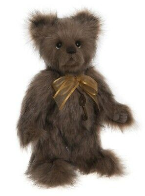 Shrimpy collectable jointed plush teddy bear by Charlie Bears - CB191911A