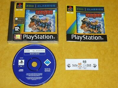 GEKIDO URBAN FIGHTERS Sony PS1 PS2 PSX Playstation 1