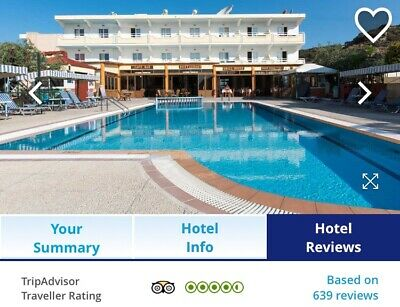 Holiday for 5 people in Rhodes, half board, flights and transfers included