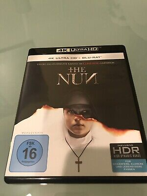 "4K UHD + Blu Ray ""The Nun"""
