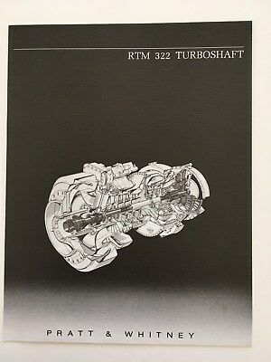 Brochure PRATT & WHITNEY RTM322 TURBOSHAFT