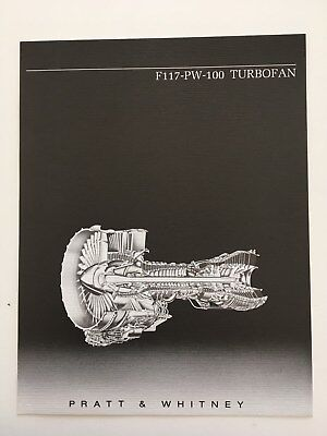 Brochure PRATT & WHITNEY F117 TURBOFAN