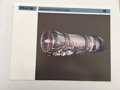 Brochure GENERAL ELECTRIC F110-GE-100 TURBOFAN ENGINE