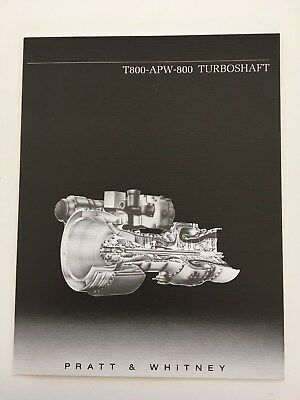 Brochure PRATT & WHITNEY T406 TURBOSHAFT