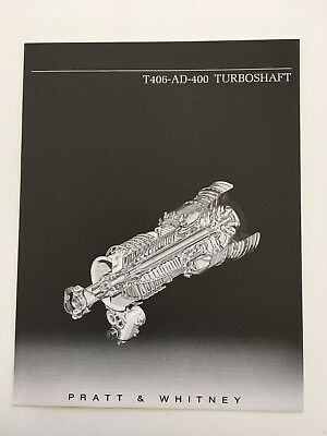 Brochure PRATT & WHITNEY T800 TURBOSHAFT